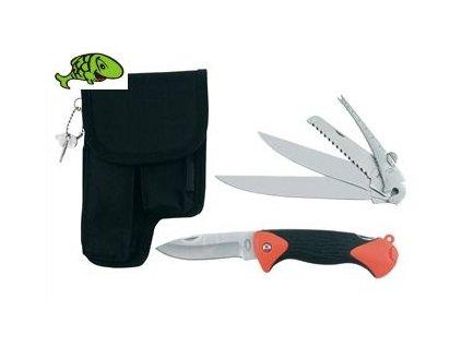 nůž skládací FIELD PRO 5PC FISHING SET W/PCH