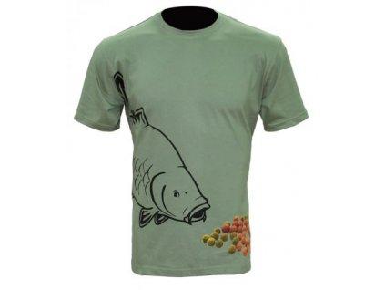 Zfish Tričko Boilie T-shirt Olive Green