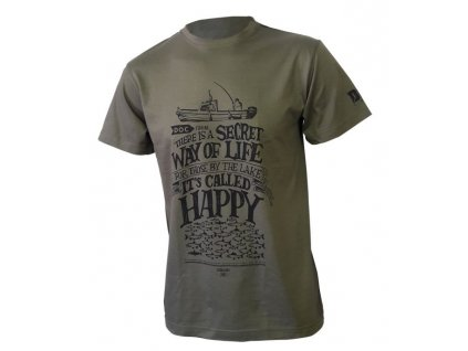doc fishing triko happy khaki