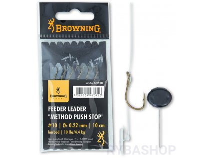 0007634 browning feeder leader method push stop 12 20mm