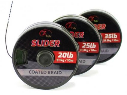 zfish snurka slider coated braid 10m
