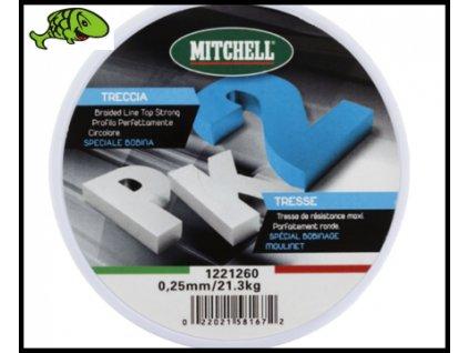 Pletená Šnůra Mitchell PK2 AKCE 1,50kč 1mt  z navíječky.