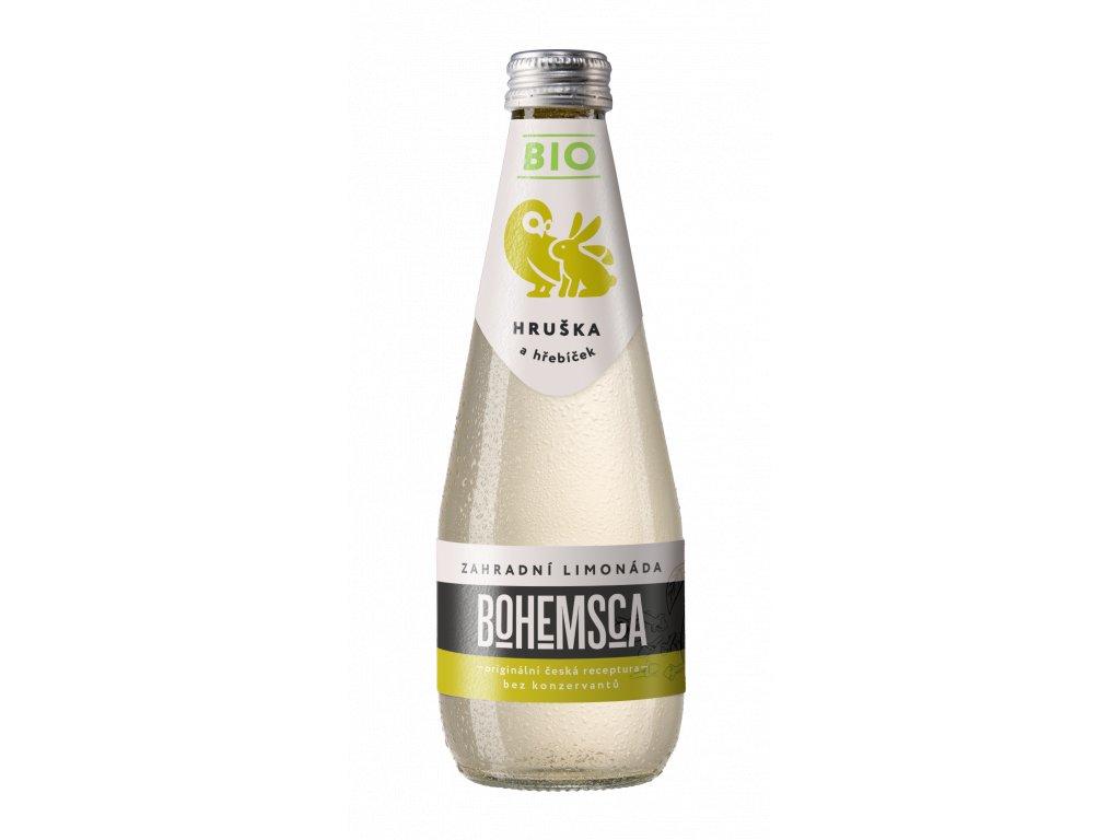 BIO Zahradní limonáda Hruška & Hřebíček BOHEMSCA