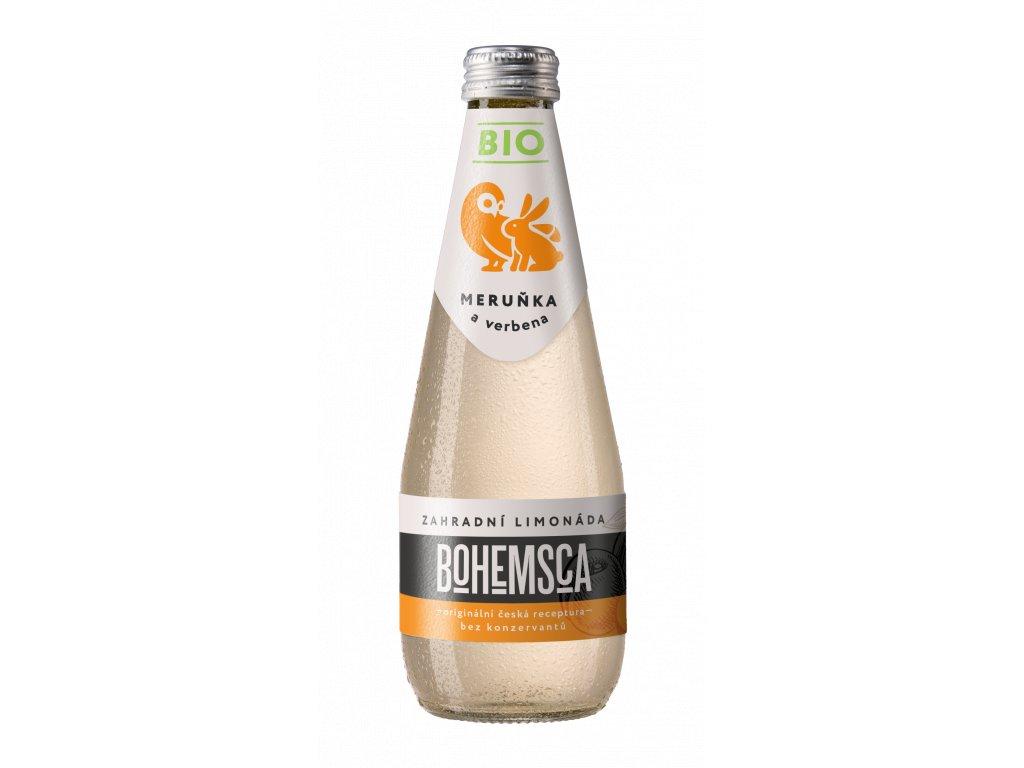 BIO Zahradní limonáda Meruňka & Verbena BOHEMSCA