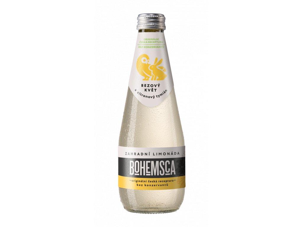 Zahradní limonáda Bezový květ & Citrónový tymián BOHEMSCA