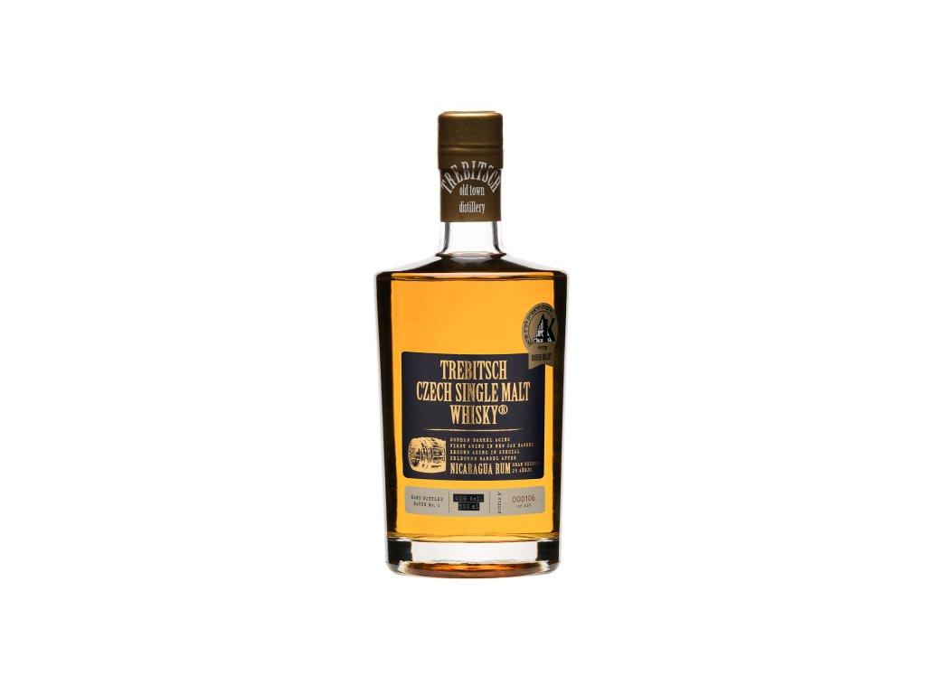 Double barrel aging Nicaragua Rum - 40%