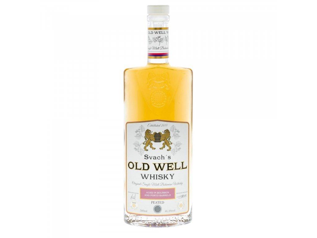 Svach´s Old Well whisky Porto - 46,3% kouřová