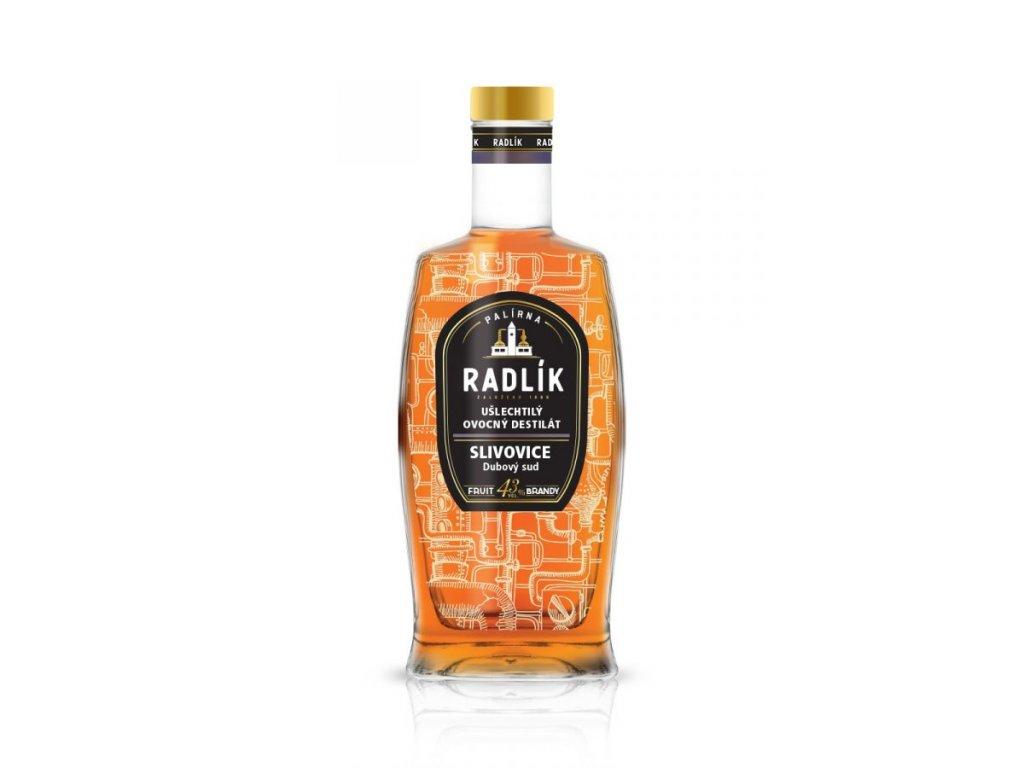 Slivovice zlatá - 43%