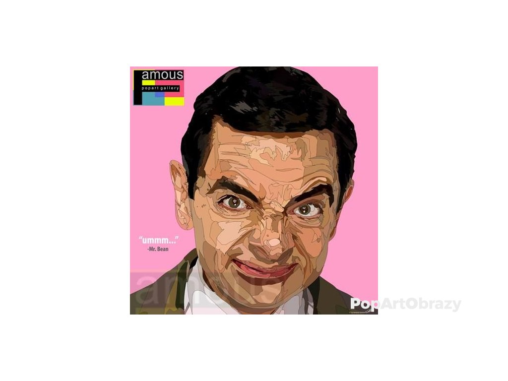 Pop Art Obrazy MR.BEAN - popartobrazy.cz
