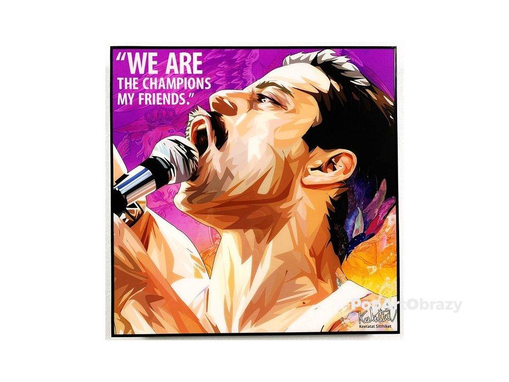 Pop Art Obrazy FREDDIE MERCURY Bohemian Rhapsody - popartobrazy.cz