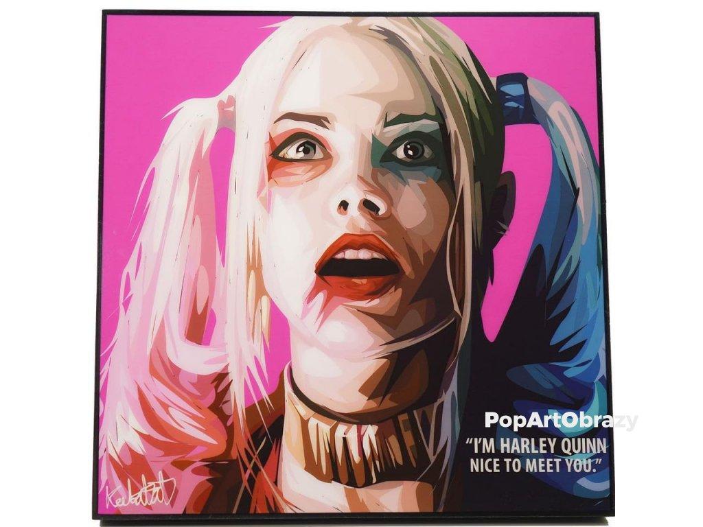 Pop Art Obrazy HARLEY QUINN - popartobrazy.cz