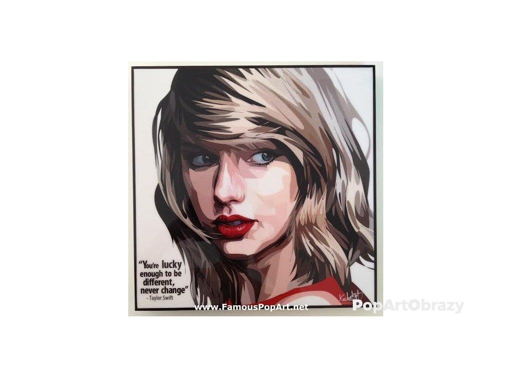 Pop Art Obrazy TAYLOR SWIFT - popartobrazy.cz