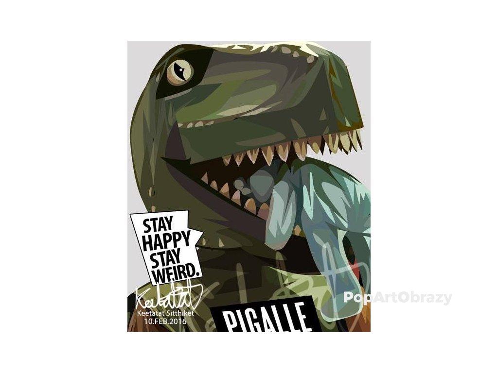 Pop Art Obrazy T-rex - popartobrazy.cz