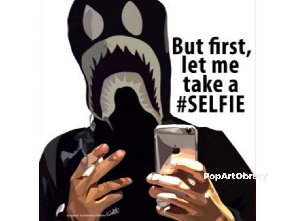 Pop Art Obrazy Selfie - popartobrazy.cz
