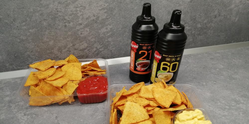 Original Tortilla chips Nachos BBQ jsou nyní ještě lepší a křupavější...