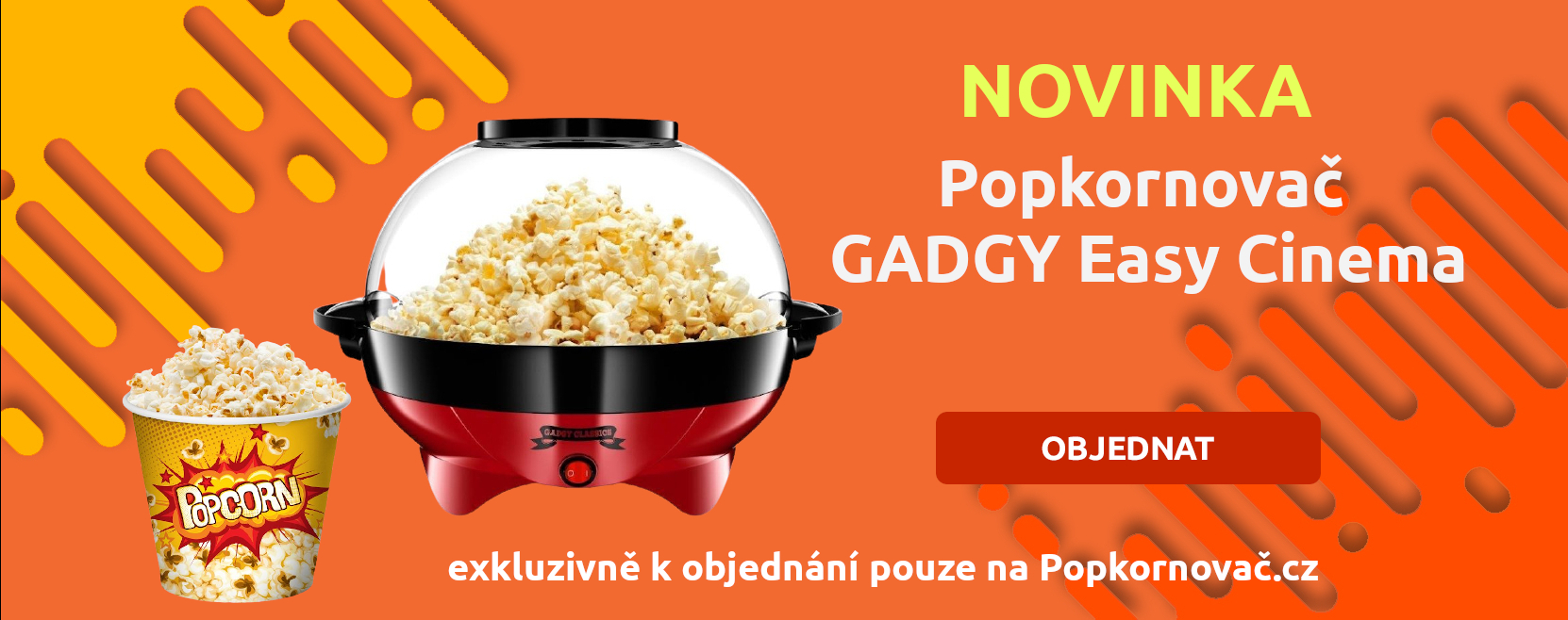 Popkornovač Gadgy Easy Cinema