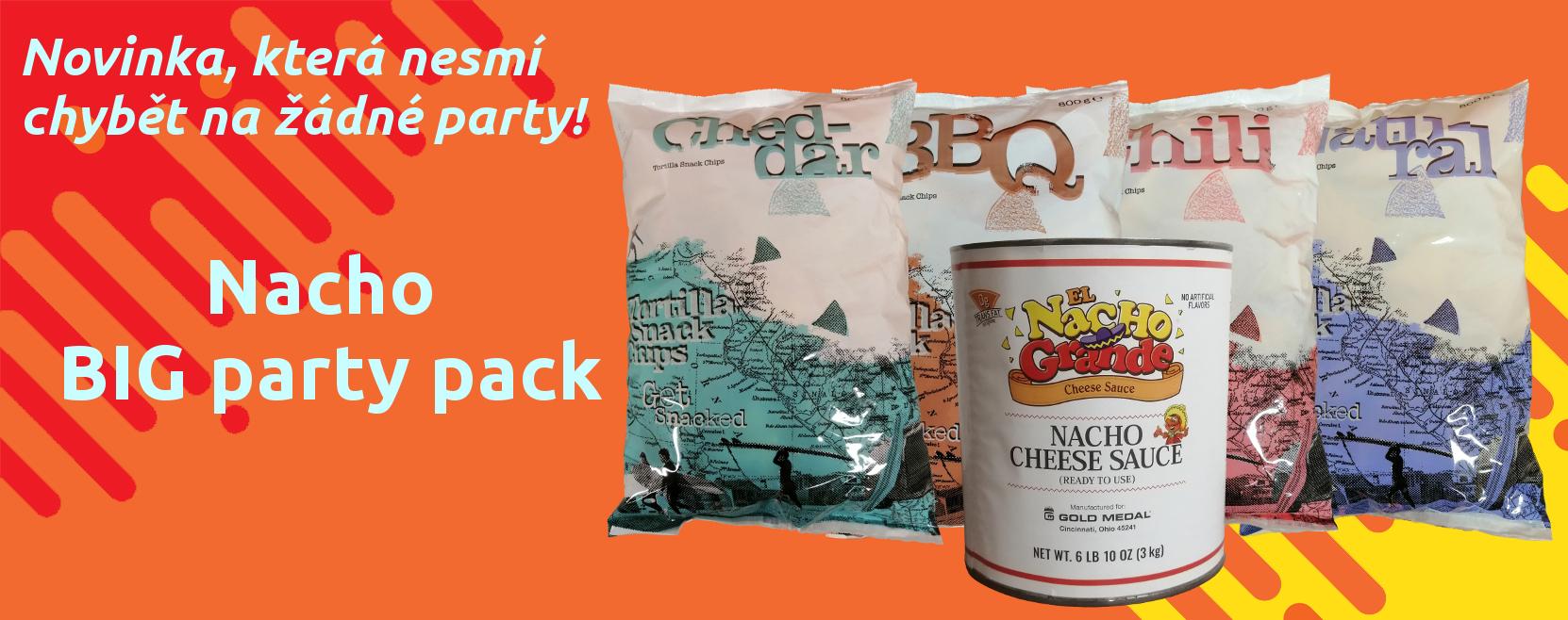 Nacho BIG party pack