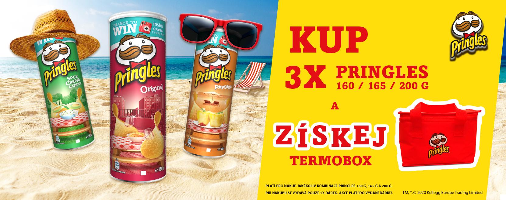 Letní akce Pringles
