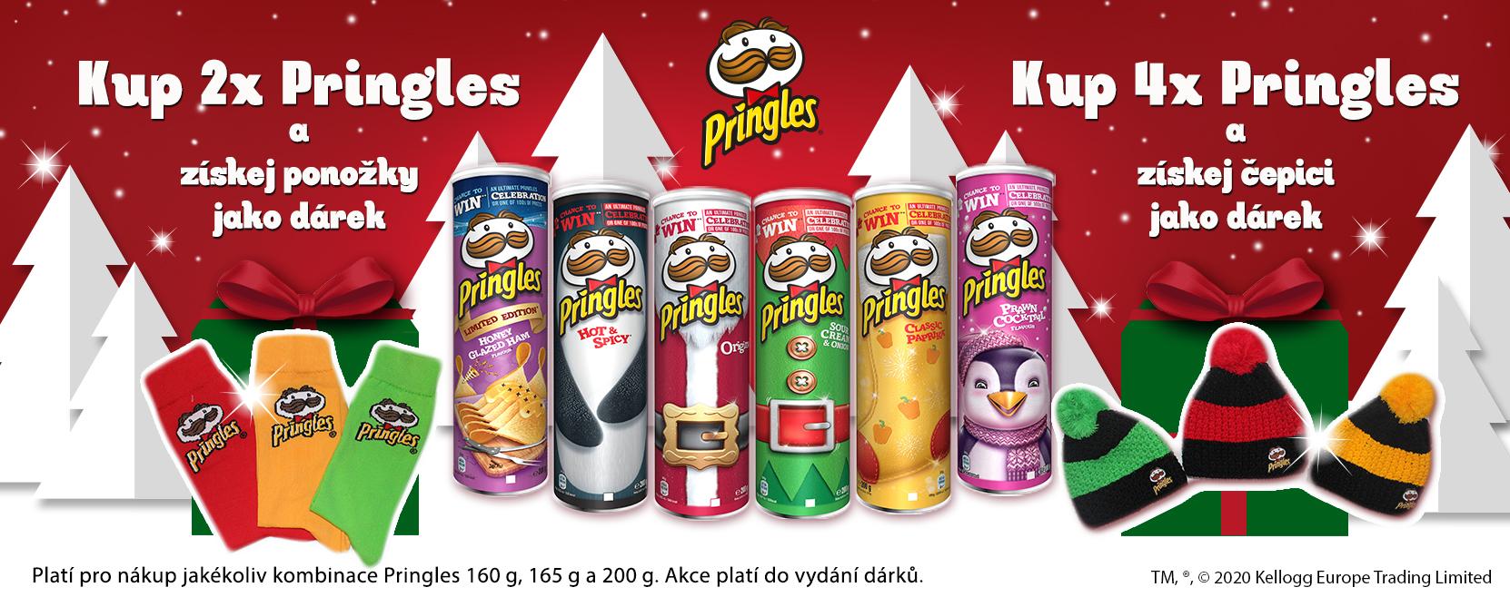Pringles XMAS akce