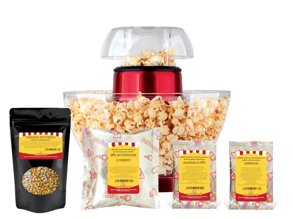 Popcorn balíček GZ 134 - slaný