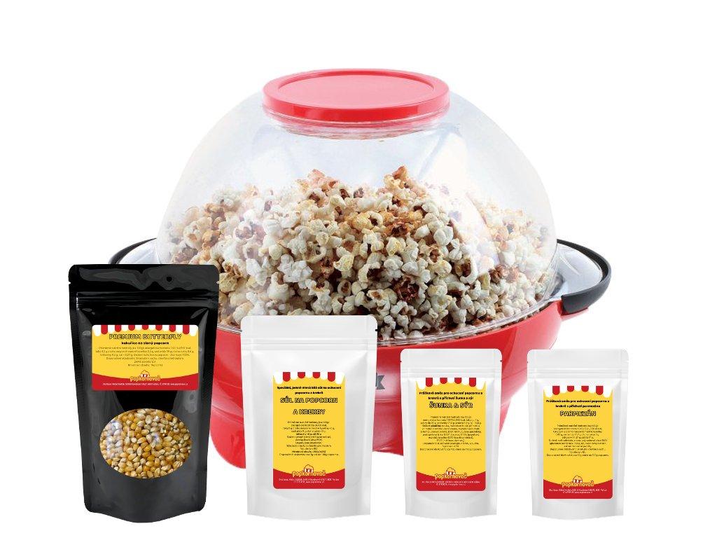 Popcorn balíček DOM376 - slaný