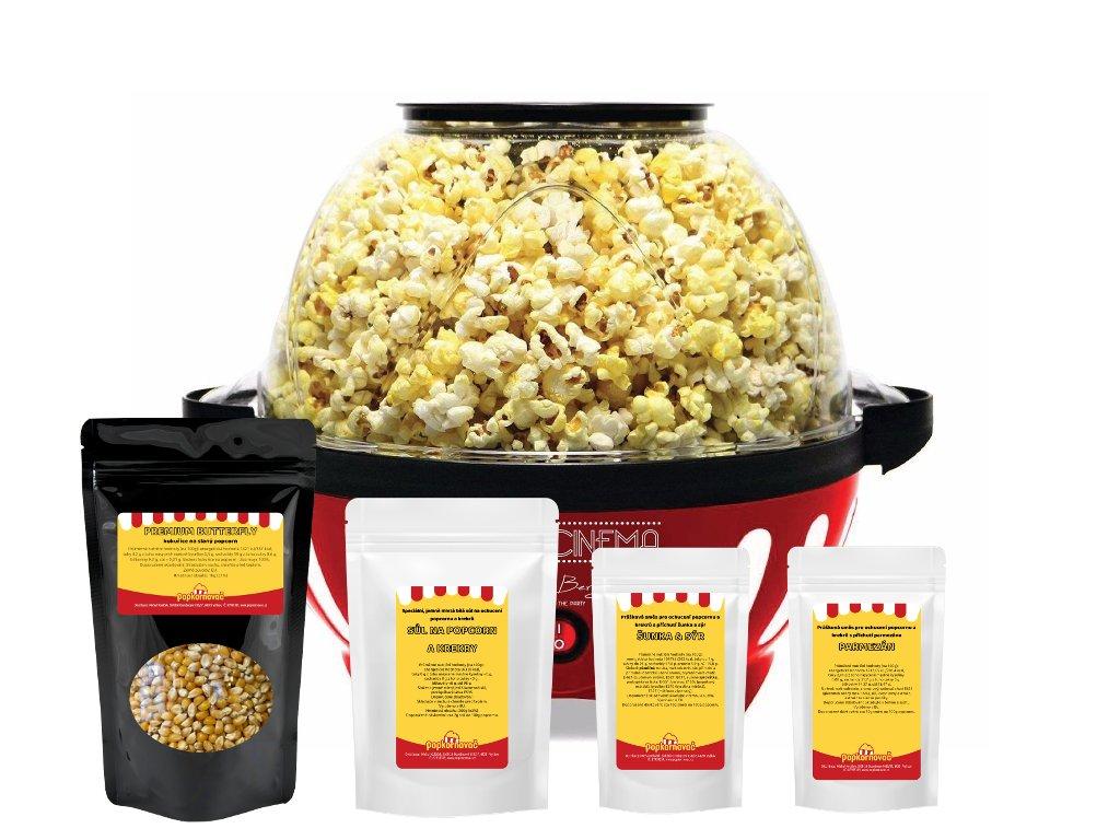Popcorn balíček EASY - slaný