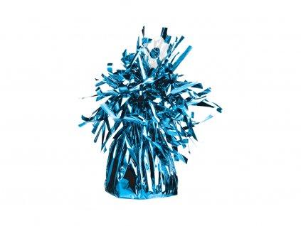 Závaží na balónky fóliové modré (170g)