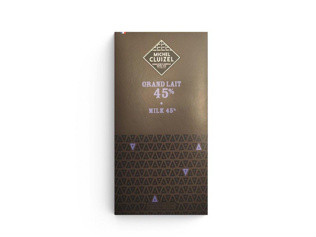 Mléčná čokoláda Grand lait 45%