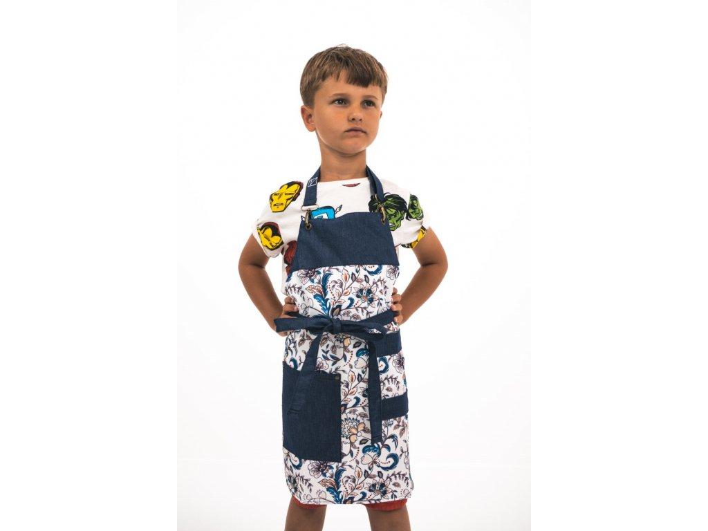 Dětská  zástěra provence