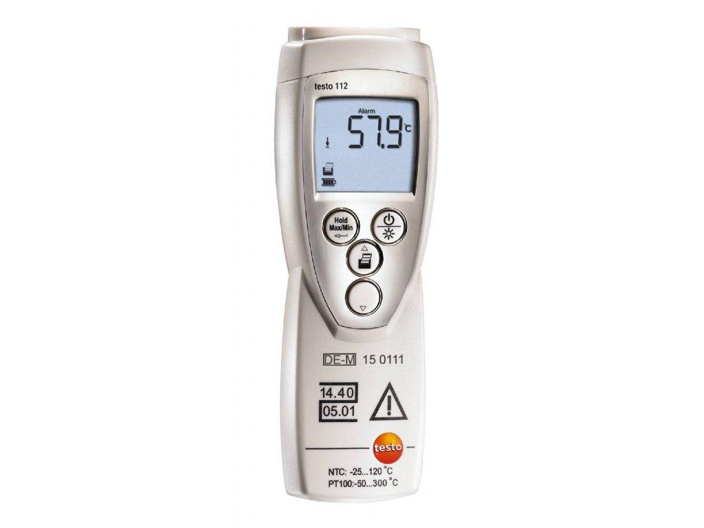 testo 112 instrument temperature 005837 DE master