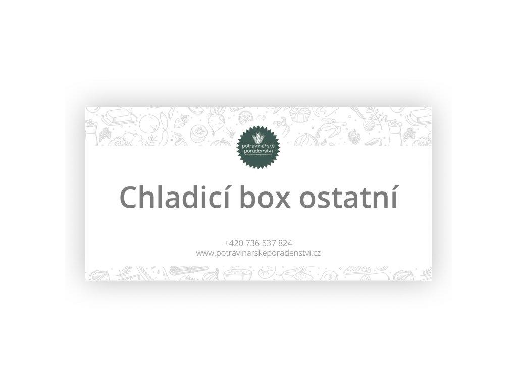 chladici box ostatni