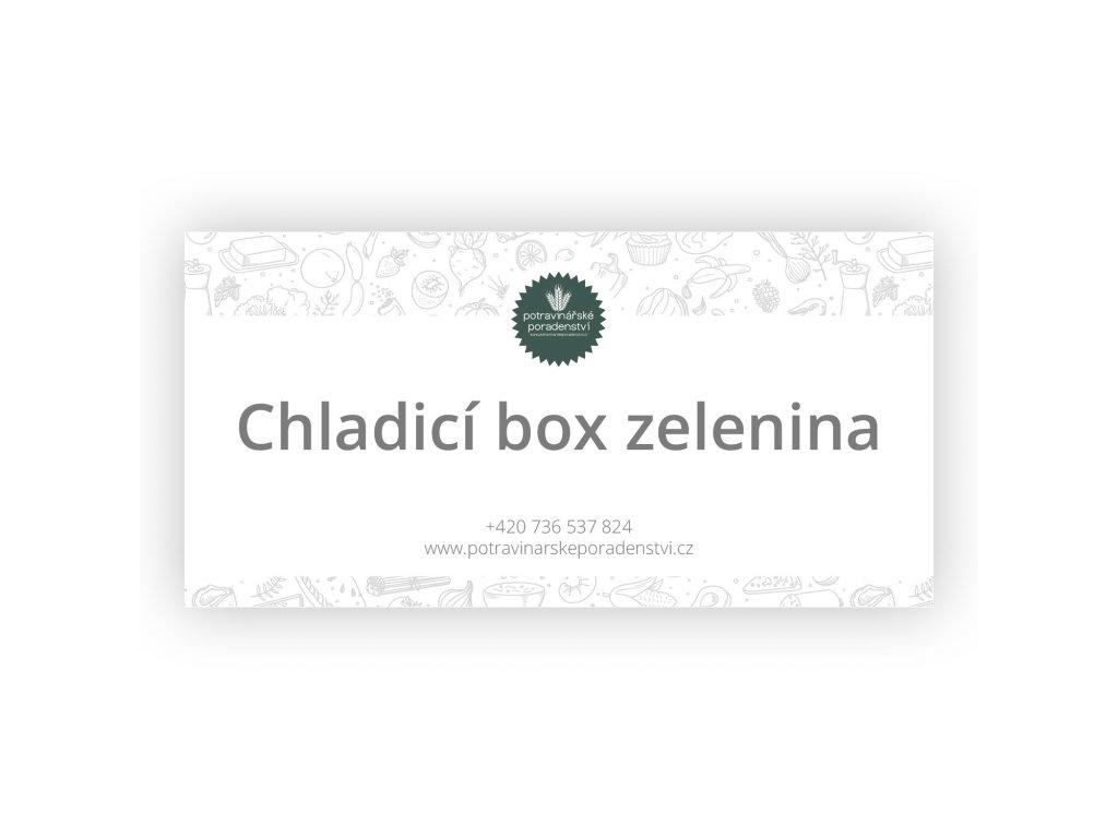 chladici box zelenina