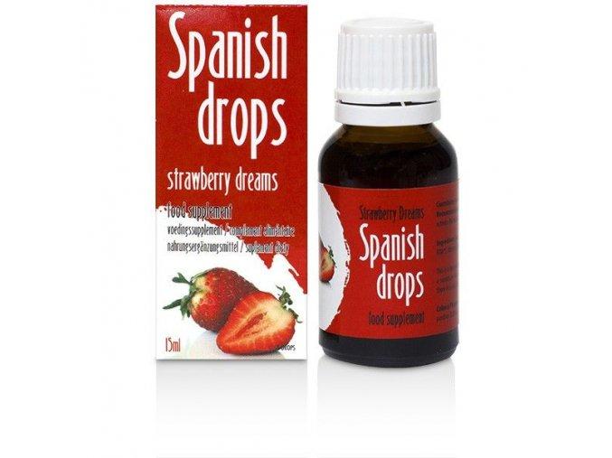Španielské mušky STRAWBERRY DREAMS - 15 ML