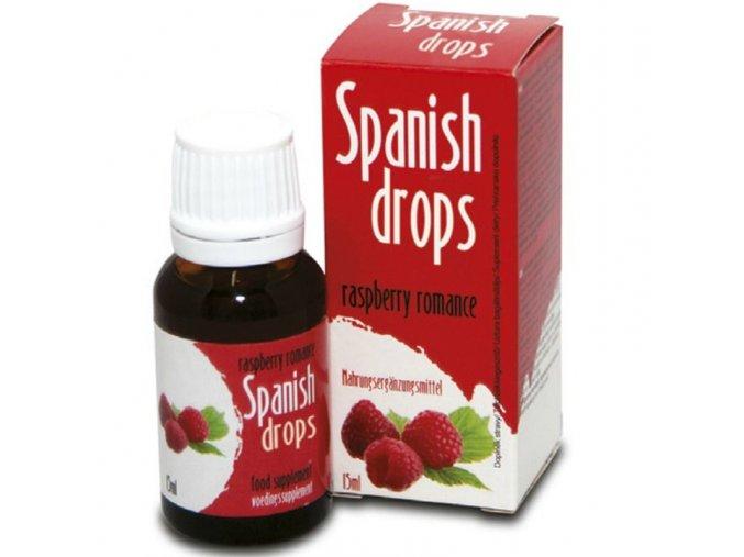 afrodiziakum španielske mušky malina