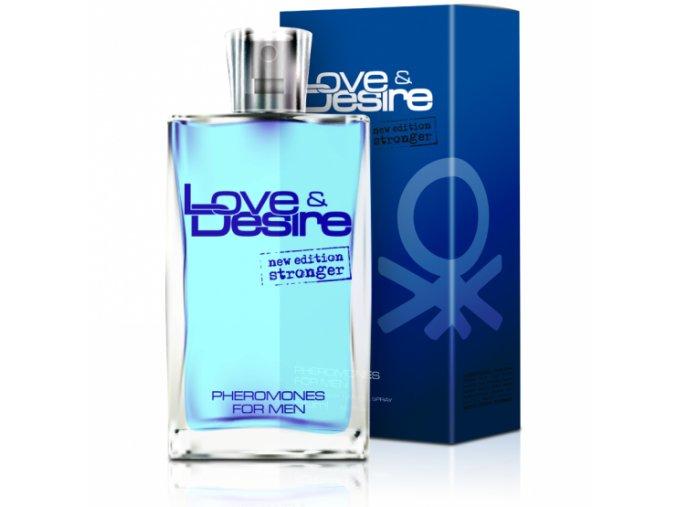 Love & Desire pánsky feromónový parfém 50ml