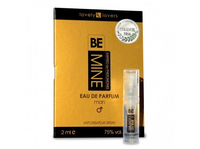 lovely lovers bemine 2 ml meskie perfumy z feromonami