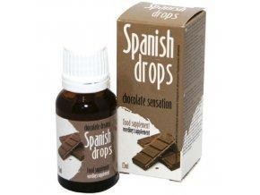 Španielské mušky čokoláda - 15 ML