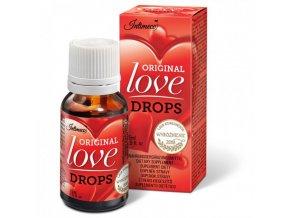 krople milosci intimeco original love drops 15mlafrodiziakum španielske mušky