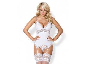 810 cor 2 corset thong white