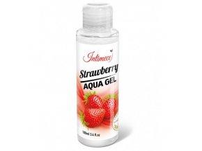 intimeco strawberry aqua gel 100ml