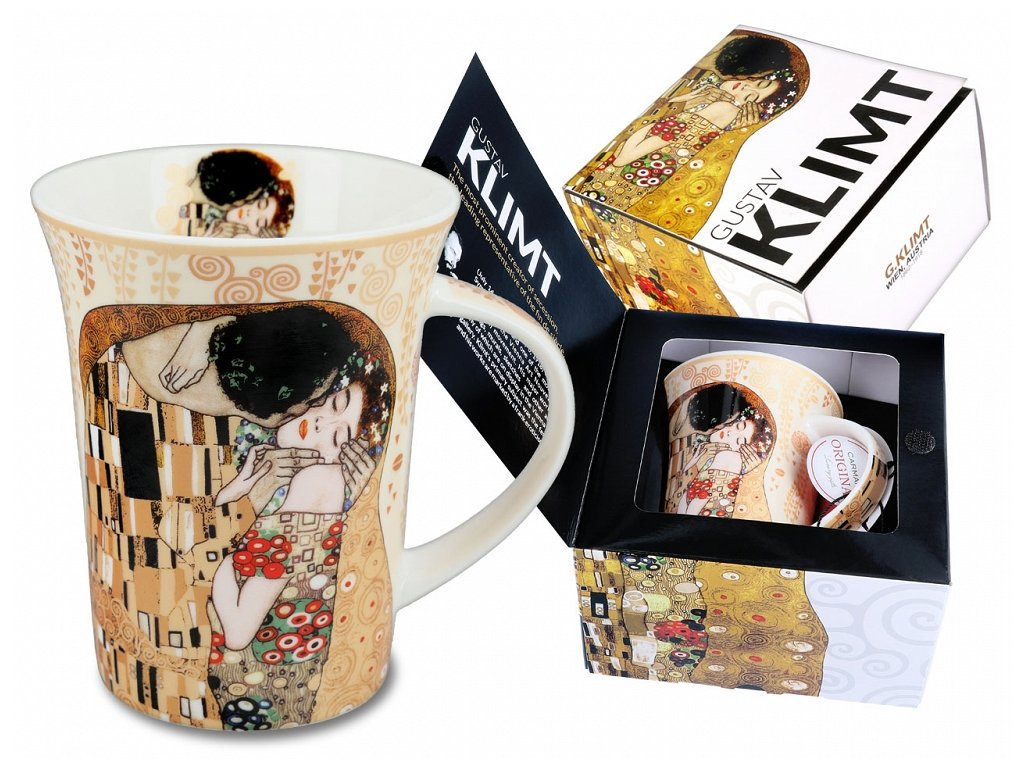 klimt the kiss hrnek polibek 350ml 532 8111