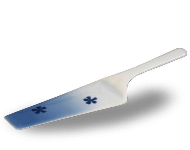 lopatka-na-dort-cesky-porcelan-thun-modre-tresne
