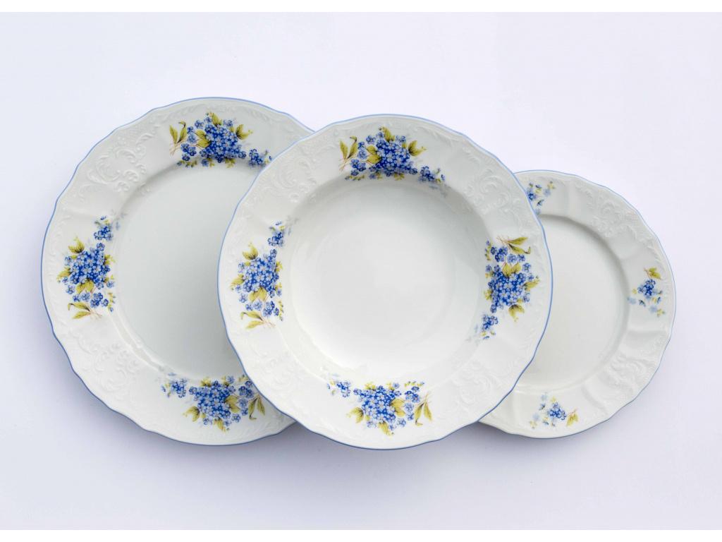 Bernadotte, talířová souprava, pomněnky