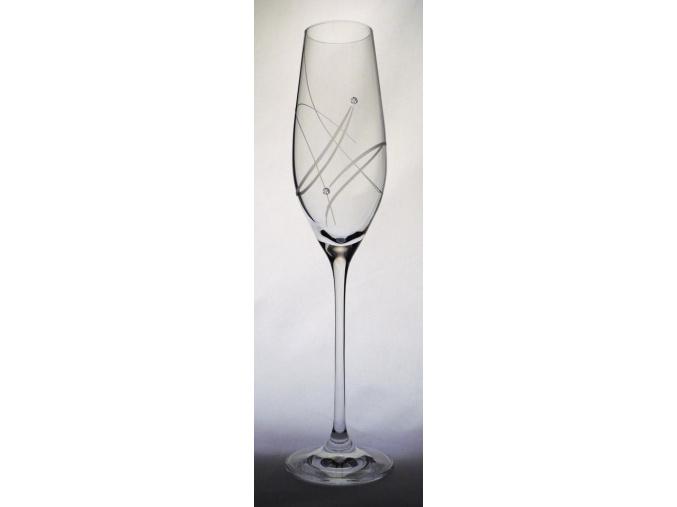 sklenice na vino celebration 210