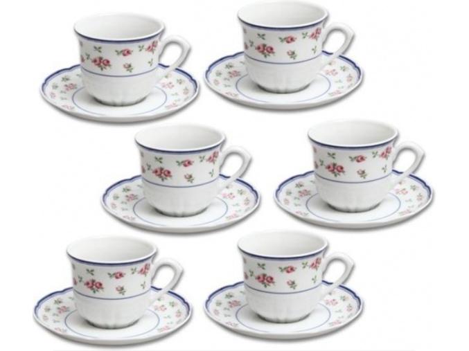 salkya podsalky rose kavove ruzicky modre lemovani thun porcelanovy svet