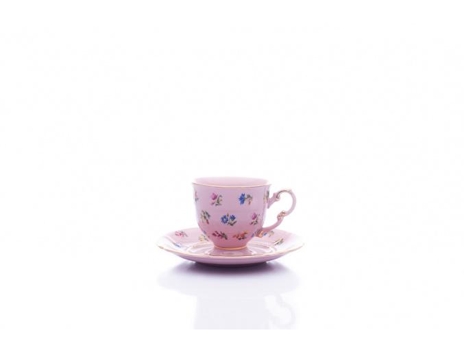 šálek sonáta růžový házenka leander porcelanovy svet