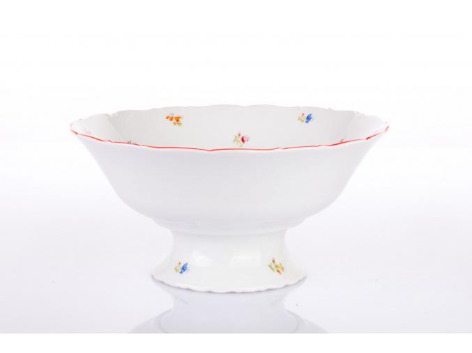 misa na ovoce 25 hazenka s cervenym prouzkem porcelanovy svet