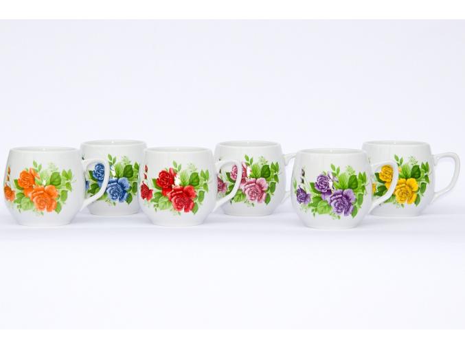 hrnky varaky kvety sada porcelanovy svet