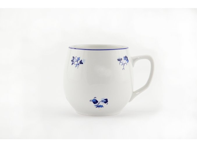 hrnek banak modra hazenka porcelanovy svet
