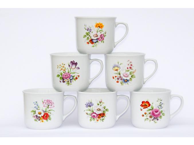 hrnky varaky pestre kvety porcelanovy svet